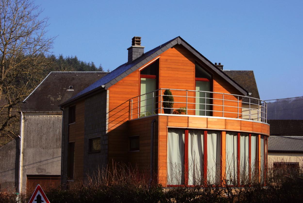 Architecture bois maison ossature bois - Probleme maison ossature bois ...